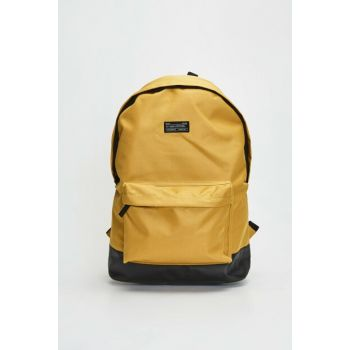 Men's Medium Yellow Backpack 9WH035Z8