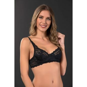 Underwire Padded Lace Bra 5002
