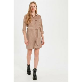 Women's Beige Dress 9WV985Z8