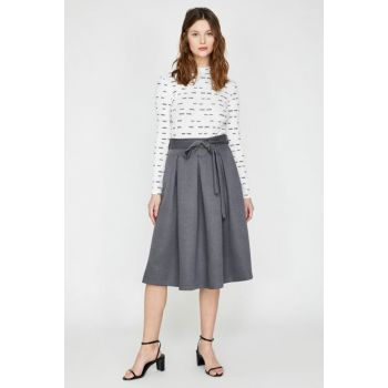 Women's Gray Skirt 9KAK73804EW