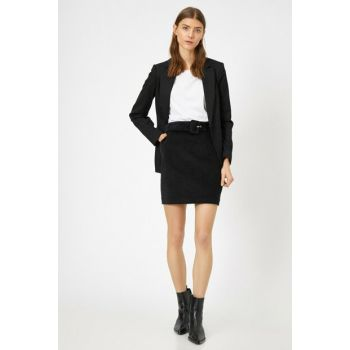 Women's Black Skirt 0KAK72388UW