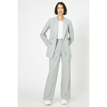 Women's Gray Trousers 0KAK43853EW