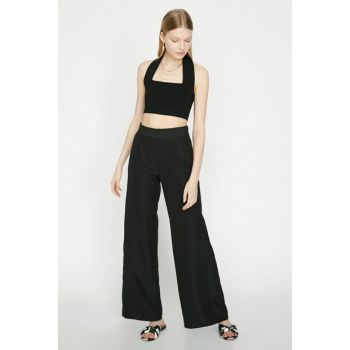 Women Black Trousers 9YAK42696UW