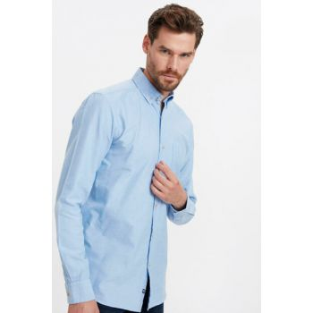 Men's Blue Shirt 8W0651Z8