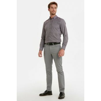 Men's Dark Gray Trousers 9W6528Z8