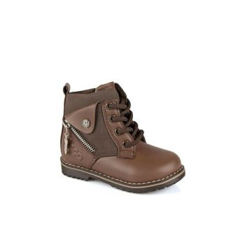946.V.546 BEBE BOT Brown Boy Boots 211 946.V.546B