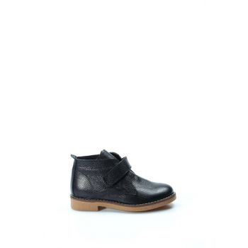 Genuine Leather Black Boy Boots 1875780