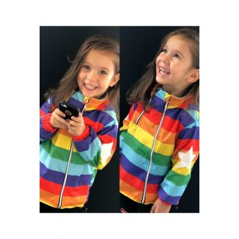 Sweet Rainbow Unisex Raincoat Coat 2154739