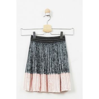 Girls' Velvet Skirt