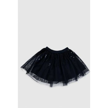 Girl Kids Navy Blue Hfh Skirt 0S6141Z4