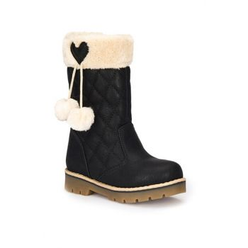 Black Girls Basic Boots 000000000100270016
