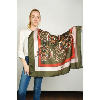 Women Multi Color Sport Polyester Scarf 9351239