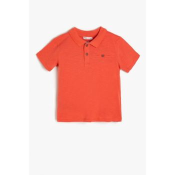 Red Boy Kid Short Sleeve T-shirt 9YKB16381OK