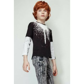 Boys Black T-shirt 19FW2NB3544