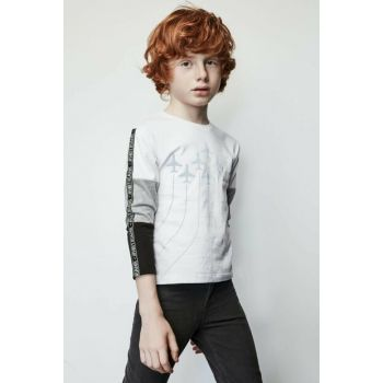 Boys White T-shirt 19FW1NB3537