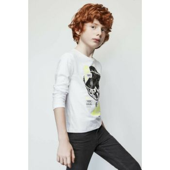 Boys White T-shirt 19FW1NB3538