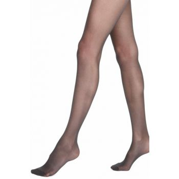 Women's Black 15 Denier Medium Support Pantyhose T60004524
