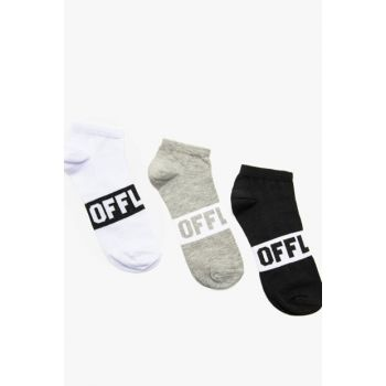 Men's Gray 3-Piece Socks for Men 0KAM82182AA