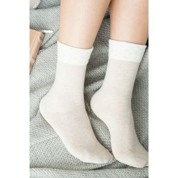 Women's Socks Diamanta - Beige 1KCORP0144-8682116127066