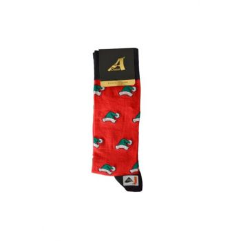 Men's Christmas Patterned Red Socks REF44145PL