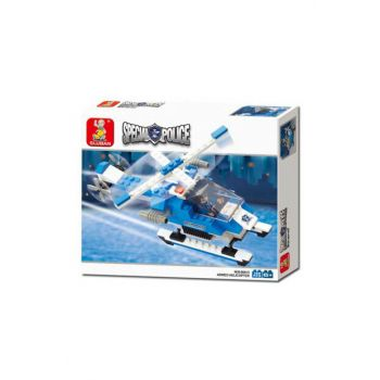 Sluban 133 Piece Police Helicopter Making Set / M-SLB0185