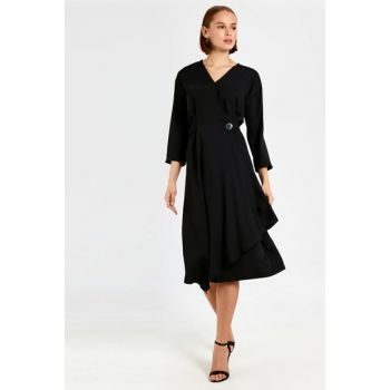 Women's New Black Dress 0S8934Z8