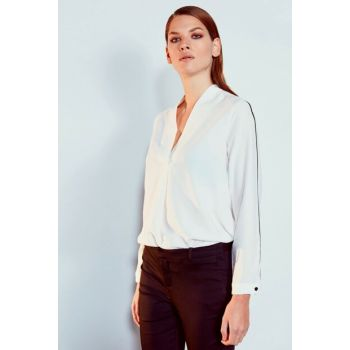 Women's Off White Blouse 9WR331Z8
