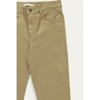 Women's Beige Trousers 9W9184Z8
