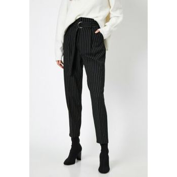 Women Black Trousers 0KAK43980EW