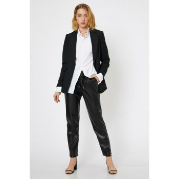 Women Black Trousers 0KAK42814UW