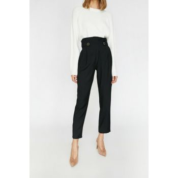 Women's Black Trousers 0KAK48194CW