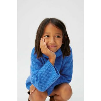 Blue Girl's Flecked Turtleneck 53057019