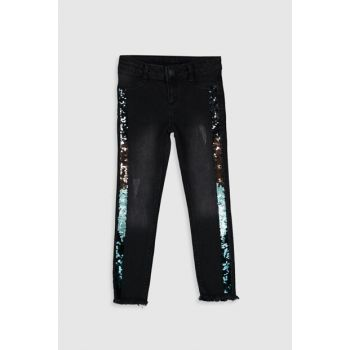 Girl Kids Black Rodeo 326 Trousers 9WH924Z4