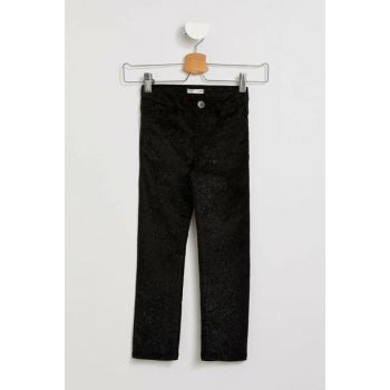 Slim Fit Corduroy Trousers I9080A6.18AU.BK27