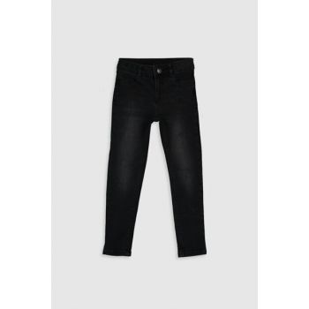 Girls' Black RODEO 326 Trousers 9WU352Z4