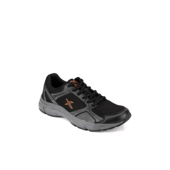 BRENDON 9PR Black Men's Running Shoe