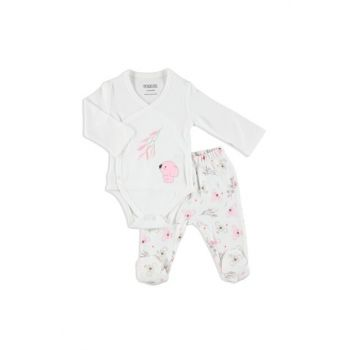 Baby Koala Zıbın Body Boots Bottom Set 2 Pieces 19KHBLKSET127