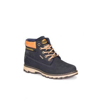 Navy Blue Boys Shoes 000000000100269133