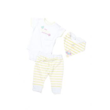 White Baby Girl Suit K-61H2403 K-61H2403