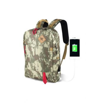 My Valice Smart Bag Freedom Usb Charging Entry Smart Backpack Camouflage /