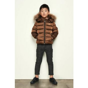 Nebbati Boy Boy Plaid Pants 18FW2NB3234