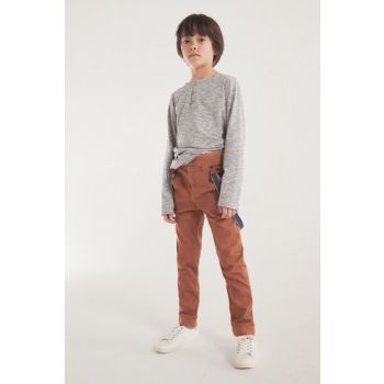Brown Boys' Trousers 13033689