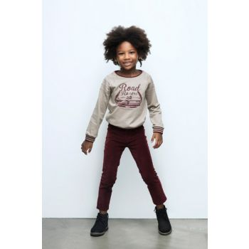 Boys' Kid's Burgundy Pants 17FW0NB3218 17FW0NB3218