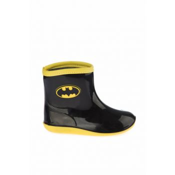 Black Children's Rain Boots 97246