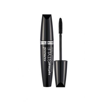 Black Mascara with Volume and Curl Effect - Optimal Style 8 ml 8690131732011
