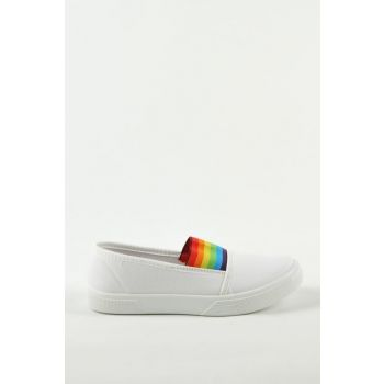 White Children's Shoes A4107-19