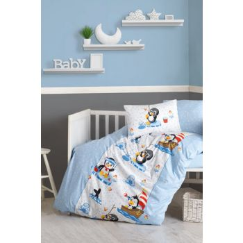 Cotton Box Baby Duvet Cover Set - Penguen 1200797009000