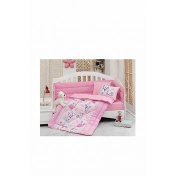 Cotton Box Baby Linens - Meow Pink 815