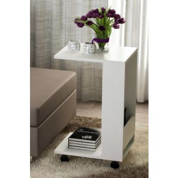 Shelf Side Table White 8681506222879