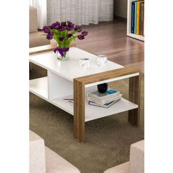 Erica Coffee Table White-Walnut 8681506222725